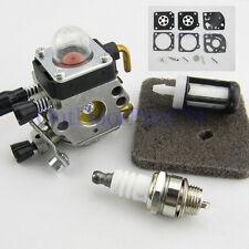 Carburetor Air Filter Spark Plug For STIHL FS38 FS45 FS46 FS55 KM55 Carb Kit