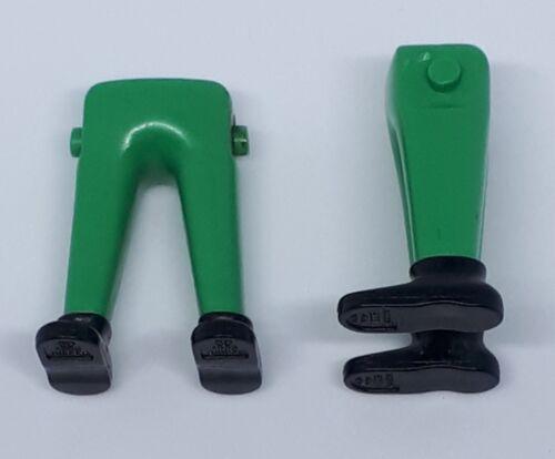 leg 164757 legs green shoes black 2u playmobil