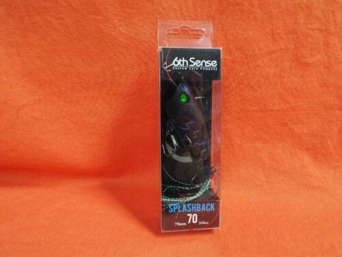 6TH SENSE Splashback 70 70 mm 3//8OZ Black Magic