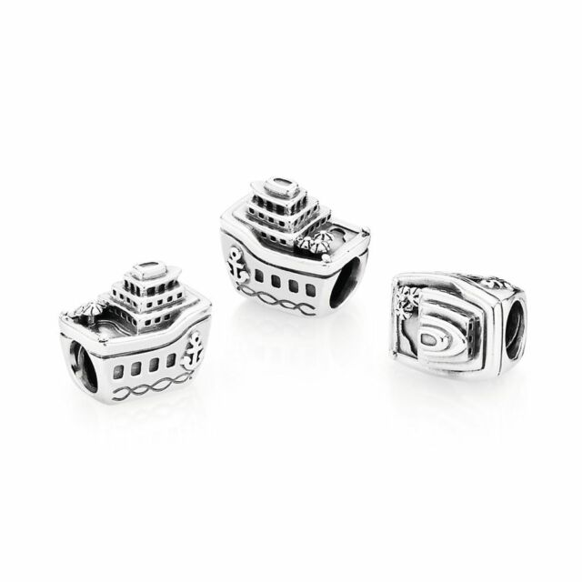 Authentic Pandora Charm Sterling Silver 791043 Cruise Ship
