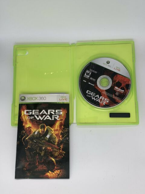 Gears Of War (Microsoft Xbox 360, 2006) TESTED & COMPLETE- DISC IS MINT
