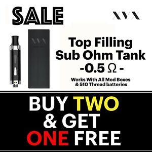 APEX-E-Cigarette-Cig-Starter-Kit-Replacement-Tank-clearomiser-0-5-Sub-Ohm-Vaping