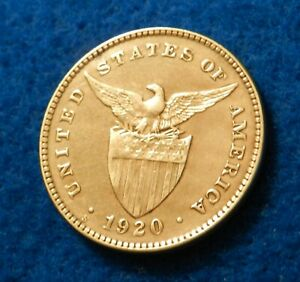 1920 S Philippine Centavo - Beautiful Coin - See PICS