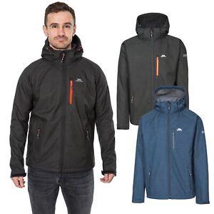 Trespass-Desmond-Mens-Softshell-Jacket-Windproof-in-Blue-amp-Black