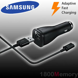 genuine samsung car dc 11 30v adaptive fast charger 9v usb. Black Bedroom Furniture Sets. Home Design Ideas