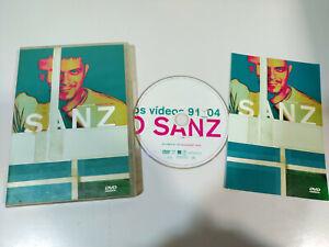 Alejandro Sanz Los Videos 91-04 - DVD + Extras Region 0 All 25 videos
