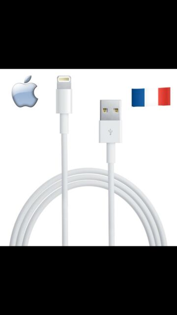 Cable Original Neuf Apple Chargeur Lightning Usb iPhone 5 /6 / 7/8 / X / Et iPad