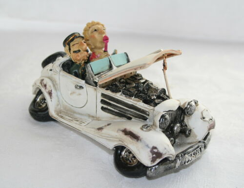 CLASSIC OPEN TOP CAR MODEL - FUN CLASSIC CAR - VINTAGE CAR - RETRO