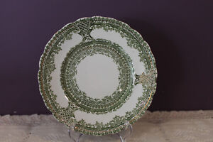 WOOD-amp-SONS-ROYAL-SEMI-PORCELAIN-8-034-LUNCHEON-PLATE-LIMOGES