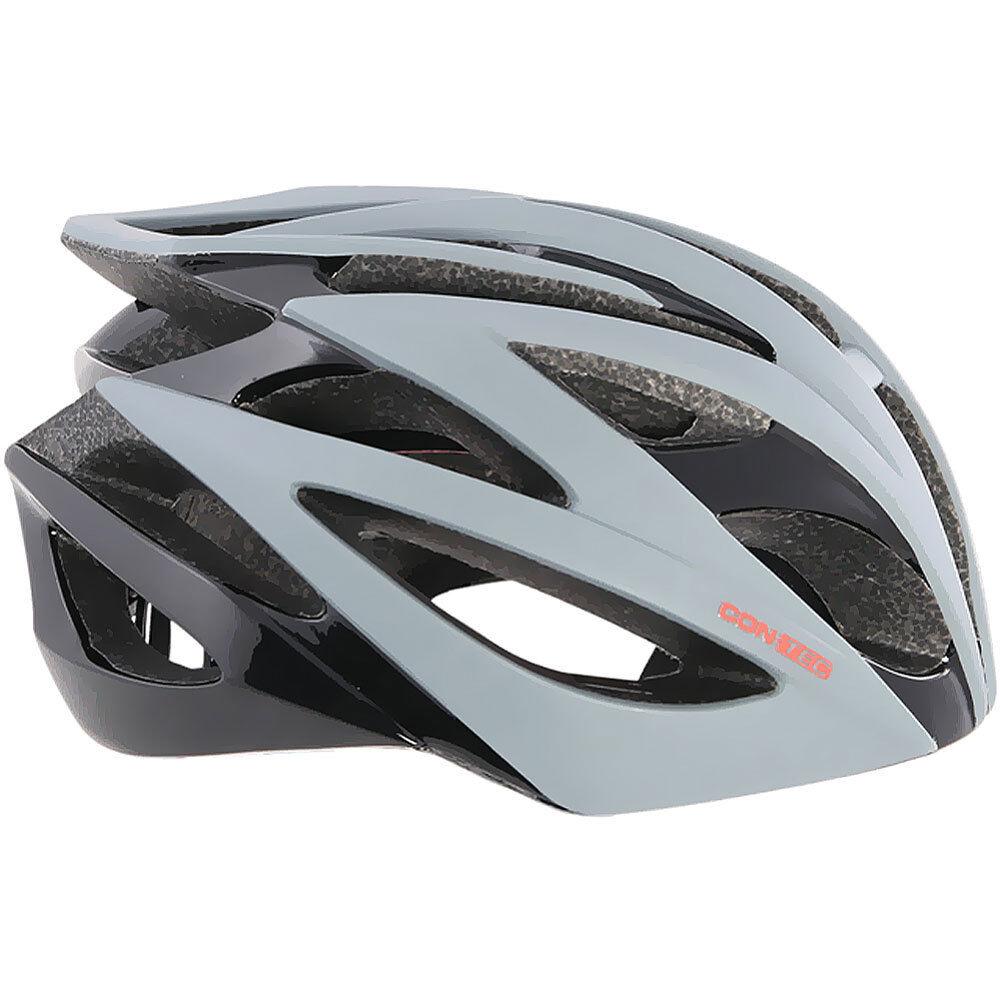 Contec Renn Helm Tempest.25 Gr. L 58-61 black grey 4250311372112 Fahrrad