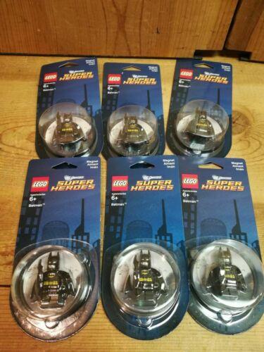 Lot of 6 Lego Batman Minifigure Magnet 850664 DC Universe Super Heroes favor new