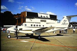 3-747-Beechcraft-C-12-Huron-United-States-Air-Force-Kodachrome-SLIDE