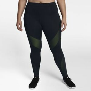 Nike-Trainings-Tights-Damen-grosse-Groesse-926614-010-Fitness-Leggins-Hose-Neu-2XL