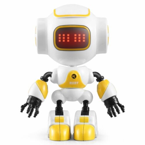 JJRC R9 RC Robot Touch Sensing LED Eyes Smart Voice DIY Gesture Robot Toy S@