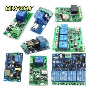 Details zu Sonoff WiFi Wireless Smart witch Home Relais Board Delay Modul  APP Smart Home