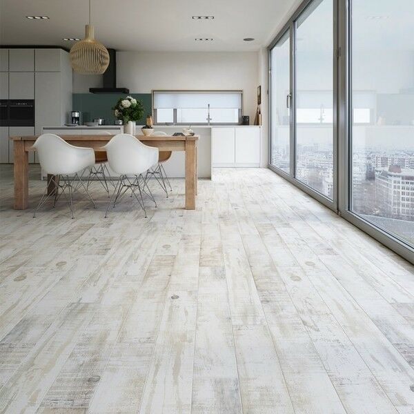 Whitewash Wood Effect Tiles R11 Anti Slip Cut Sample