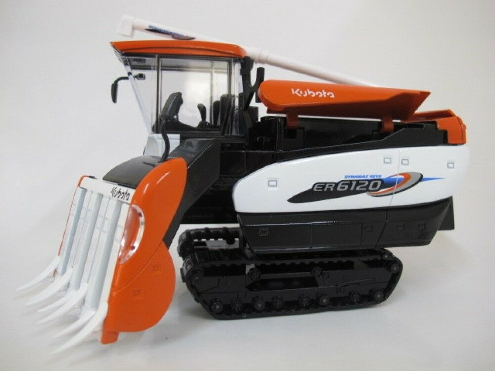 1 24 Kubota Dynamax ER6120 Reaper-Binder Binder Diecast Model farm combines New