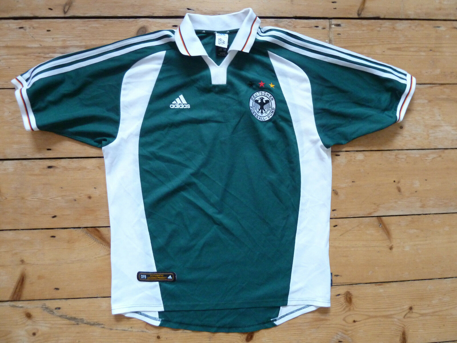 Allemagne Maillot de Foot Grand 2000 Allemand Football Euro 16 Maglia Tricot