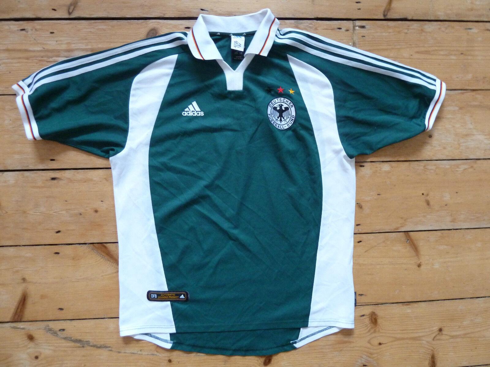 Deutschland 16 Fußball Trikot L 2000 Deutscher Fußball Trikot Euro 16 Deutschland Maglia Trikot 6b43c2