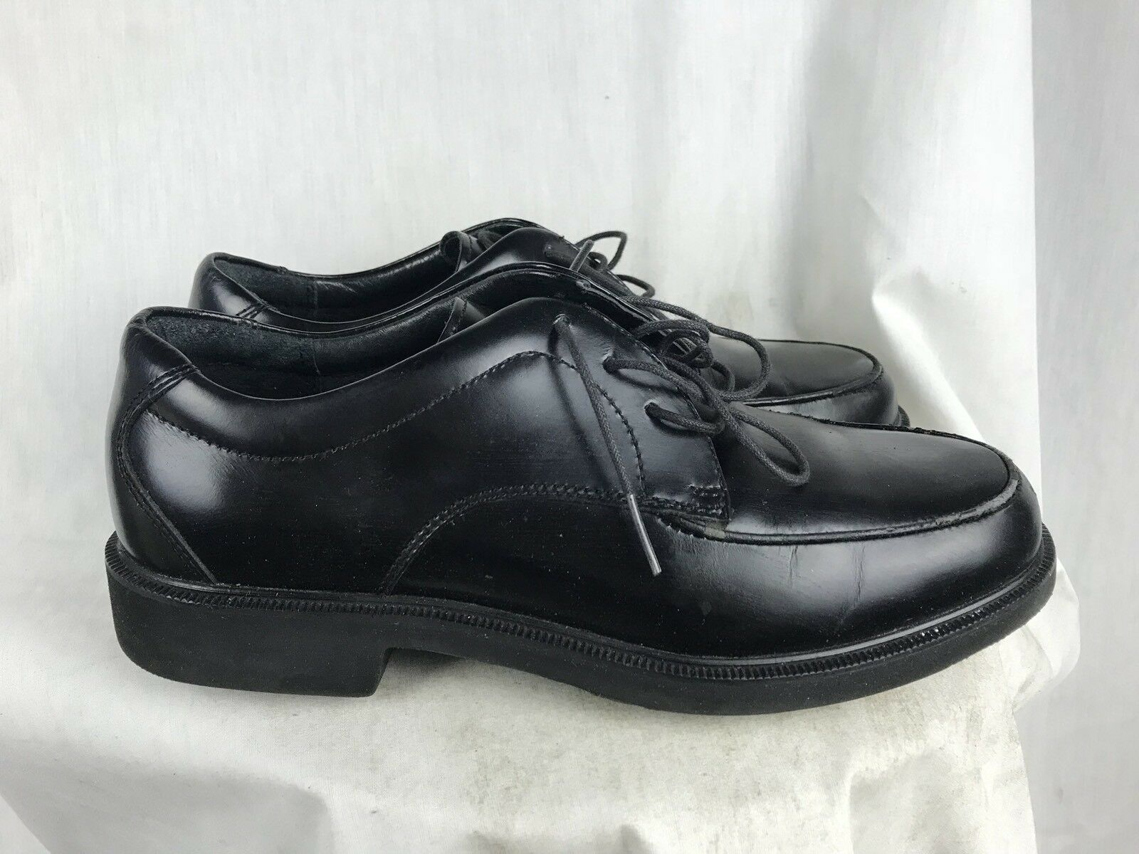 Tacco Mens Dress 7D Black Leather Oxford Dress Mens Shoes f8d92b