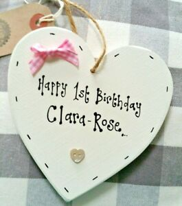Image Is Loading FIRST 1ST BIRTHDAY GIFT BOY OR GIRL PERSONALISED