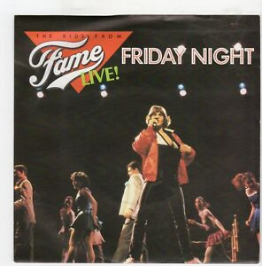 II985-The-Kids-From-Fame-Live-Friday-Night-1983-7-inch-vinyl