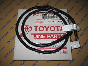 toyota fj cruiser auxiliary fog light switch wiring harness genuine rh ebay com