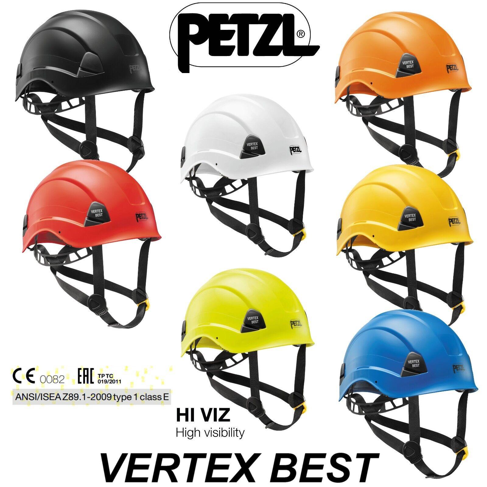 PETZL verdeEX BEST Casco per Lavoro in Quota EN 397 12492 50365 Alta Visibilità