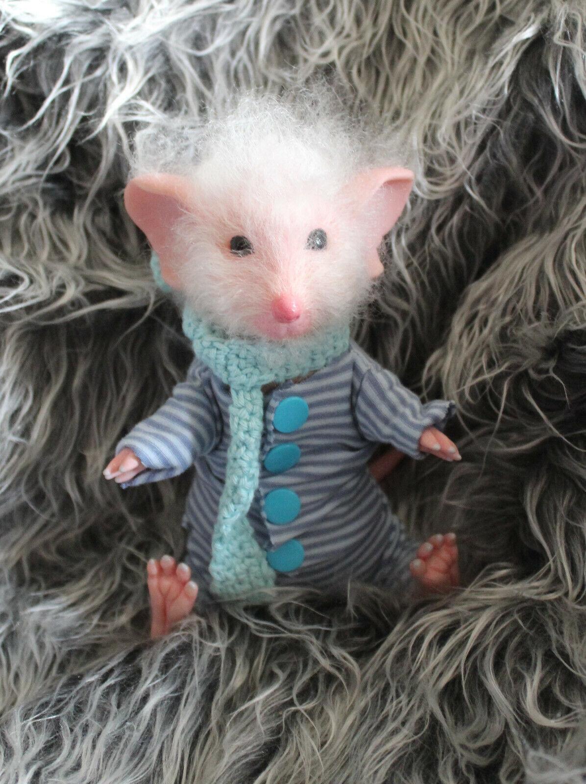 Reborn Baby Mäuse Maskottchen (Sylvia Manning)