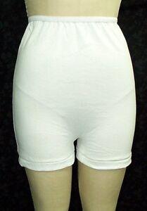 3 Pair Size 14 White 100/% Cotton Womens Long Leg Panties USA Made CLOSE OUT $$$$