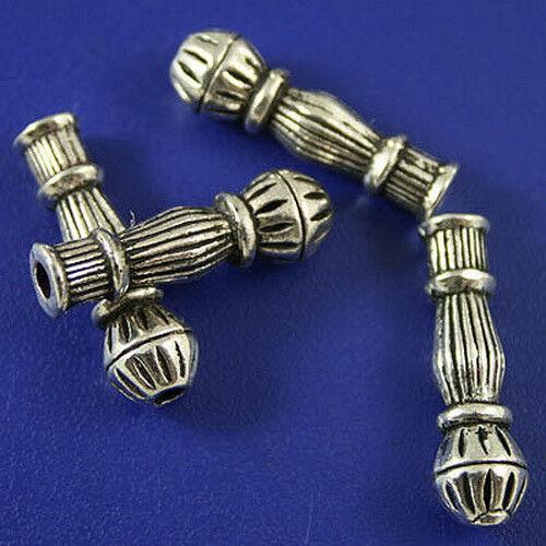 10pcs tibetan silver vase Spacer Beads Findings h0748
