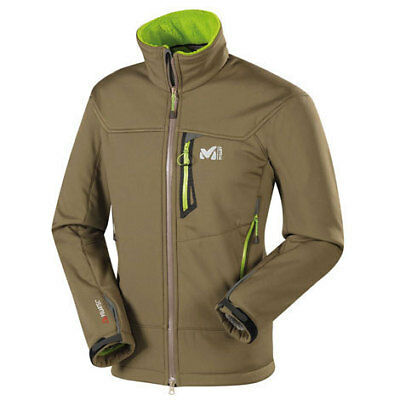 Millet Softshell chaqueta Altitude High Jacket, invierno Softshell con highloft-Fleece