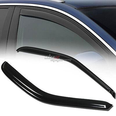 FOR 97-04 F150 REG/EXT/SUPER SMOKE WINDOW VISOR SHADE/VENT WIND/RAIN DEFLECTOR