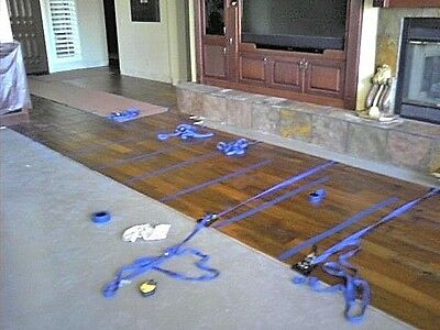 FOUR Hardwood Floor Installation Clamp Wood Flooring Install Plank Strap Tool.