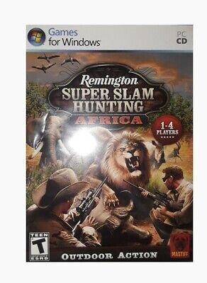 remington super slam hunting africa pc game