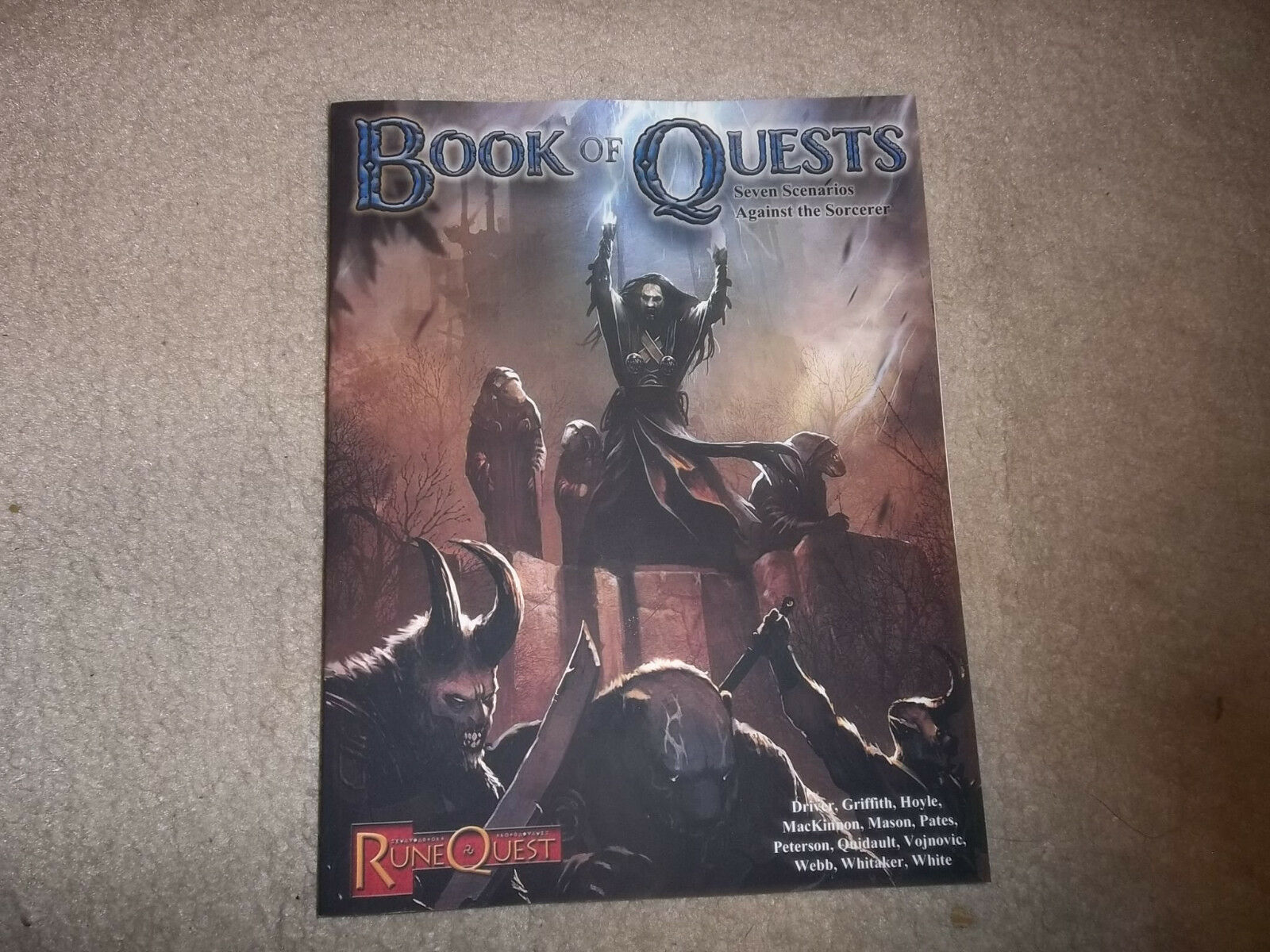 Runequest RPG 6th Ed Book of Quests