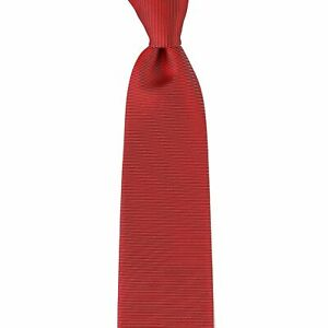 145-New-CORNELIANI-Red-Silver-Silk-Tie-Made-in-Italy