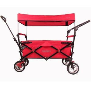 Fuxtec Handcart Ct-700 Poussette de plage rouge Chariot Equipement Chariot Handcart