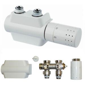 Détails sur Buderus Multiblock universel Design Robinet radiateur de salle  de bain