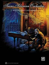 Trans-Siberian Orchestra Beethoven's Last Night Sheet Music Piano Voca 000701711