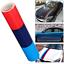 Stickers-deco-BMW-M-MOTORSPORT-bande-autocollant-3-couleurs-100cm-x-15cm-VYNIL miniatura 1
