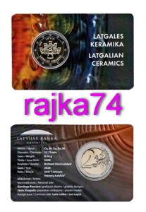 Lettland-2-Euro-2020-Latgalian-Keramik-Kerzenhalter-in-Coincard-VVK