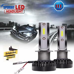2x-110w-H1-COB-luz-LED-Mini-Coche-Faros-Kit-Conduccion-Bombillas-6000k-CANBUS