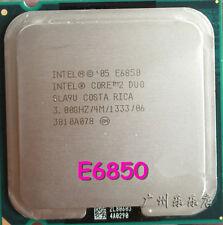 1PC Intel Core 2 Duo E6850 CPU 3.0GHz 4MB/1333Mhz LGA775 SLA9U