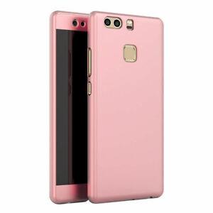 For Huawei P9 Lite Mini Mate 9 20 10 360° Full Hybrid Case Cover ...