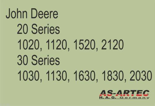 TC 59320 John Deere Serie 1030 1630  Keilriemen 17 x 1215mm Traktor 1130