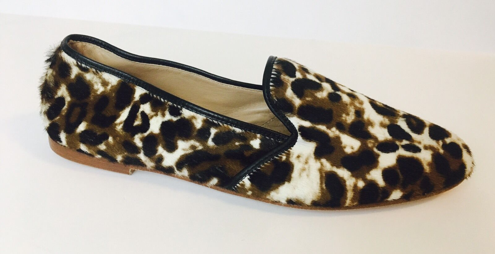 New J.CREW Collection Calf Hair Loafers 6  298 E0775