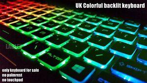 For MSI MS-1781 MS-16J1 MS-16J2 Backlit keyboard Crystal Space BAR KEY /& Clips