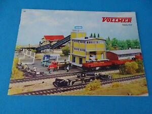 VOLLMER  Katalog Catalog 1966-67 NL