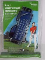 Old Stock 3 In 1 Golf Bag Shaped Universal Remote Control Sealed Radio Shack